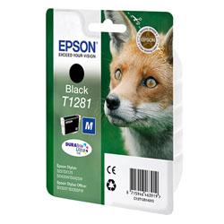 Картридж Epson T1281 (C13T12814011/C13T12814012) черный
