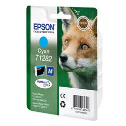 Картридж Epson T1282 (C13T12824011/C13T12824012) голубой