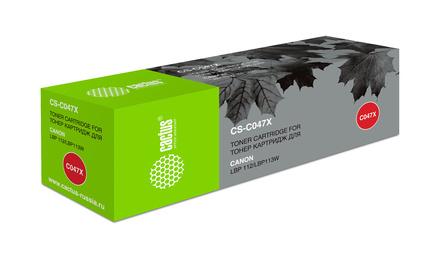 Картридж Cactus CS-C047X повышенной емкости