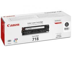 Картридж Canon 718 Bk (2662B002) черный