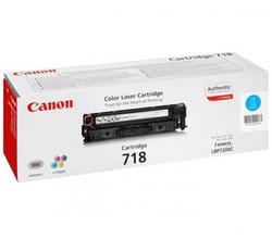 Картридж Canon 718 C (2661B002) голубой