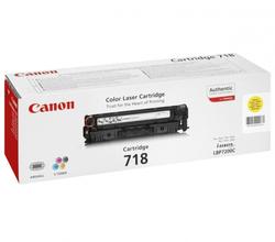 Картридж Canon 718 Y (2659B002) желтый