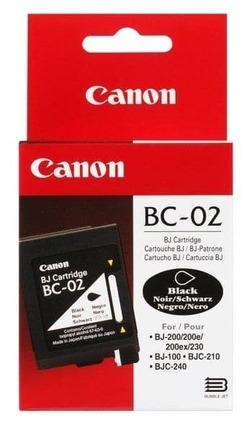 Картридж Canon BC-02 (0881A002) черный