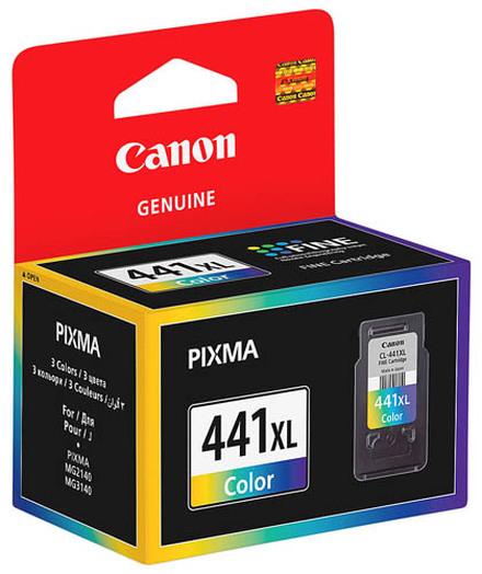 Картридж Canon CL-441XL Color (5220B001) цветной повышенной емкости