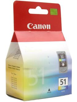 Картридж Canon CL-51 Color (0618B001) цветной повышенной емкости