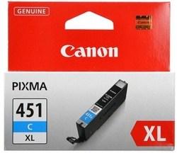 Картридж Canon CLI-451C XL (6473B001) голубой повышенной емкости