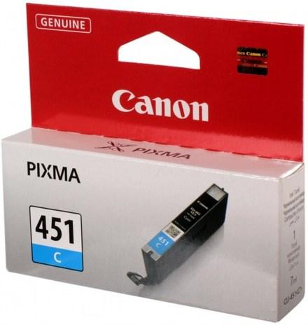 Картридж Canon CLI-451C (6524B001) голубой