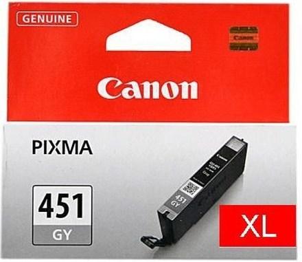 Картридж Canon CLI-451GY XL (6476B001) серый повышенной емкости