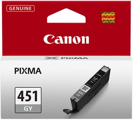 Картридж Canon CLI-451GY (6527B001) серый