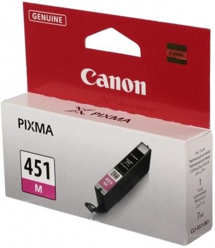Картридж Canon CLI-451M (6525B001) пурпурный