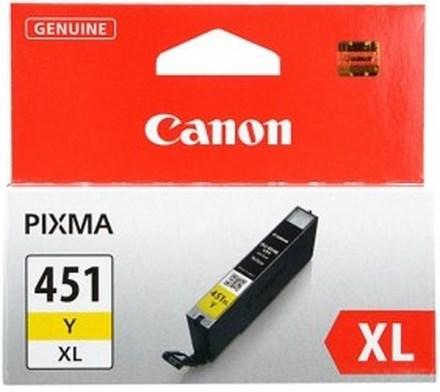 Картридж Canon CLI-451Y XL (6475B001) желтый повышенной емкости