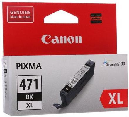Картридж Canon CLI-471BK XL (0346C001) черный повышенной емкости