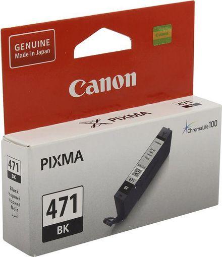 Картридж Canon CLI-471BK (0400C001) черный