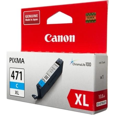 Картридж Canon CLI-471C XL (0347C001) голубой повышенной емкости