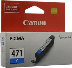 Картридж Canon CLI-471C (0401C001) голубой