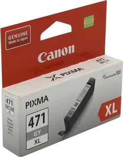 Картридж Canon CLI-471GY XL (0350C001) серый повышенной емкости