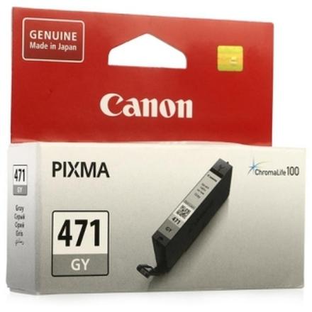 Картридж Canon CLI-471GY (0404C001) серый