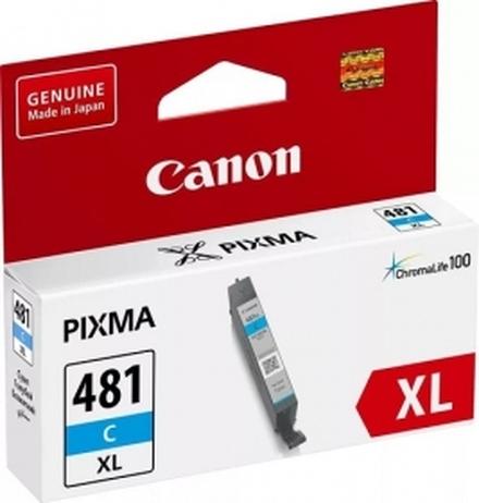 Картридж Canon CLI-481C XL (2044C001) голубой повышенной емкости