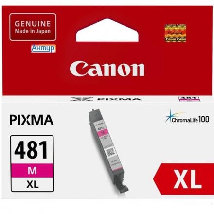 Картридж Canon CLI-481M XL (2045C001) пурпурный повышенной емкости