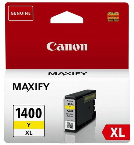 Картридж Canon PGI-1400XL Y (9204B001) желтый