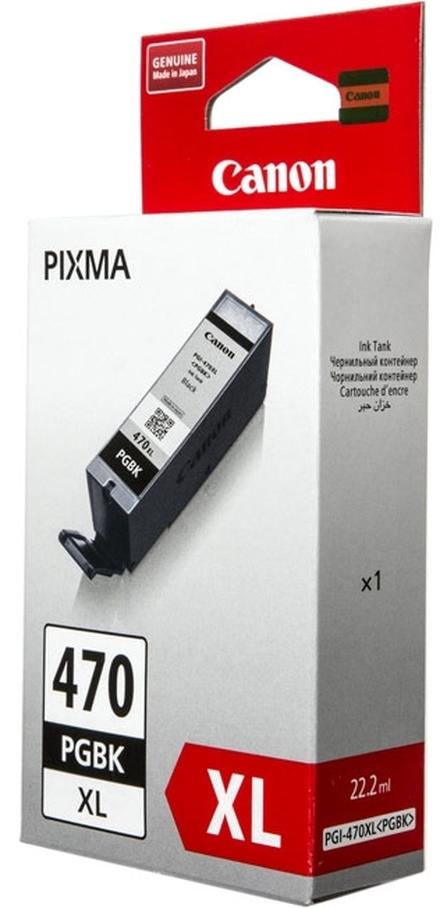 Картридж Canon PGI-470PGBK XL (0321C001) черный повышенной емкости
