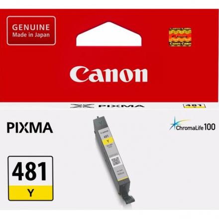 Картридж Canon CLI-481Y (2100C001) желтый