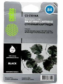 Картридж Cactus CS-C5016A (№84) черный совместимый с hp 84 (C5016A)