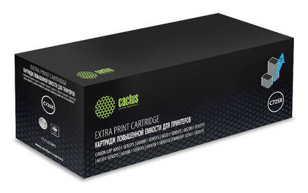 Картридж Cactus CS-C725X повышенной емкости