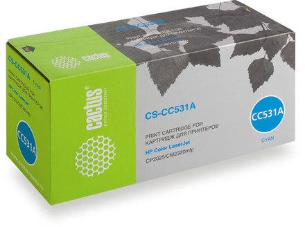 Картридж CS-CC531A голубой