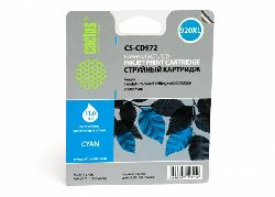 Картридж Cactus CS-CD972 №920XL (голубой) совместимый аналог картриджа hp 920XL