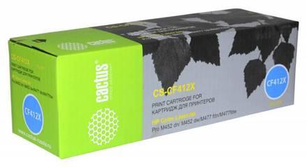 Картридж CS-CF412X желтый повышенной емкости