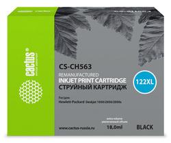 Картридж Cactus CS-CH563 122XL черный повышенной емкости совместимый аналог hp 122XL (CH563HE)