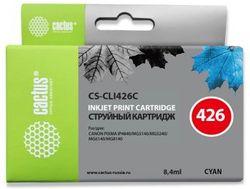 Картридж Cactus CS-CLI426C голубой для Canon