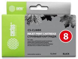 Картридж Cactus CS-CLI8BK черный для Canon