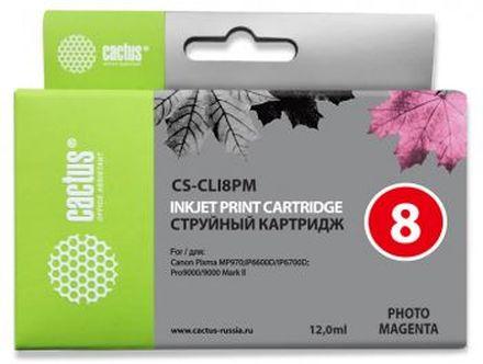 Картридж Cactus CS-CLI8PM фото-пурпурный для Canon