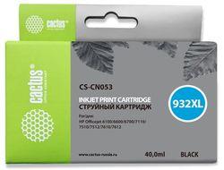 Картридж Cactus CS-CN053 № 932XL черный совместимый с hp 932XL