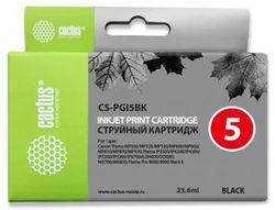 Картридж Cactus CS-PGI5BK черный для Canon
