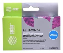 Картридж Cactus CS-T6M07AE №903XL пурпурный совместимый аналог картриджа hp 903XL (T6M07AE)