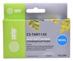 Картридж Cactus CS-T6M11AE №903XL желтый совместимый аналог картриджа hp 903XL (T6M11AE)
