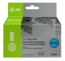 Картридж Cactus CS-T6M19AE №907XL черный совместимый аналог картриджа hp 907XL (T6M19AE)