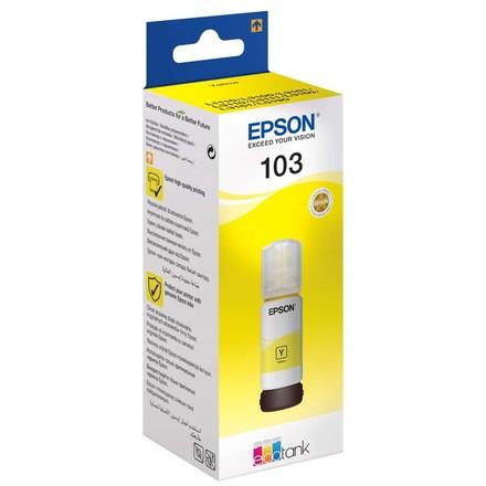 Контейнер с желтыми чернилами Epson 103 (T00S44A/C13T00S44A)