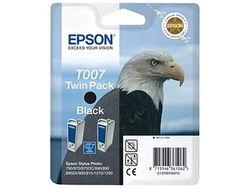 Картридж Epson C13T00740210 (T007) черный (2шт. в упаковке)