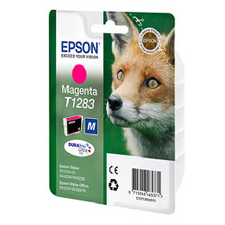Картридж Epson T1283 (C13T12834011/C13T12834012) пурпурный