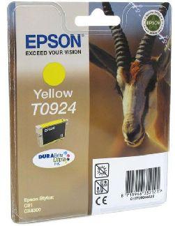 Картридж Epson T0924 желтый
