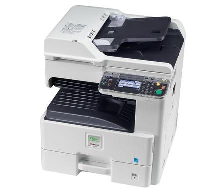 Ремонт МФУ Kyocera FS-6030MFP Очистка роликов механизма подачи бумаги из лотка
