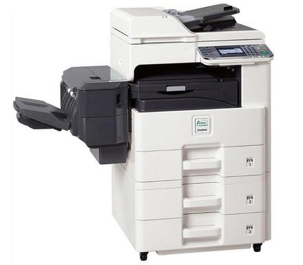 Ремонт МФУ Kyocera FS-6525MFP Очистка роликов механизма подачи бумаги из лотка