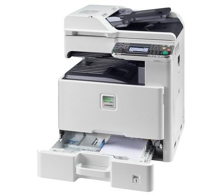 Ремонт МФУ Kyocera FS-C8025MFP Замена механизма подачи бумаги из лотка