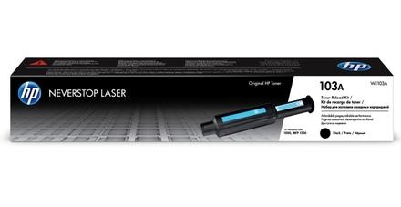 Заправочный комплект тонера HP Neverstop Laser 103A (W1103A) 2500 стр.