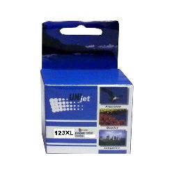Картридж UNIjet 123XL (F6V18AE) цветной повышенной емкости