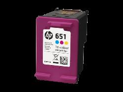 Картридж hp 651 (C2P11AE) цветной